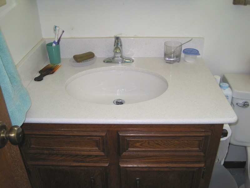 Guest Bath Sink & Counter Top