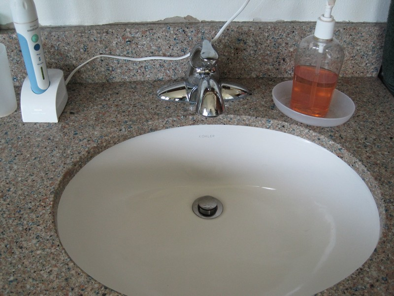 Master Bath sink detail