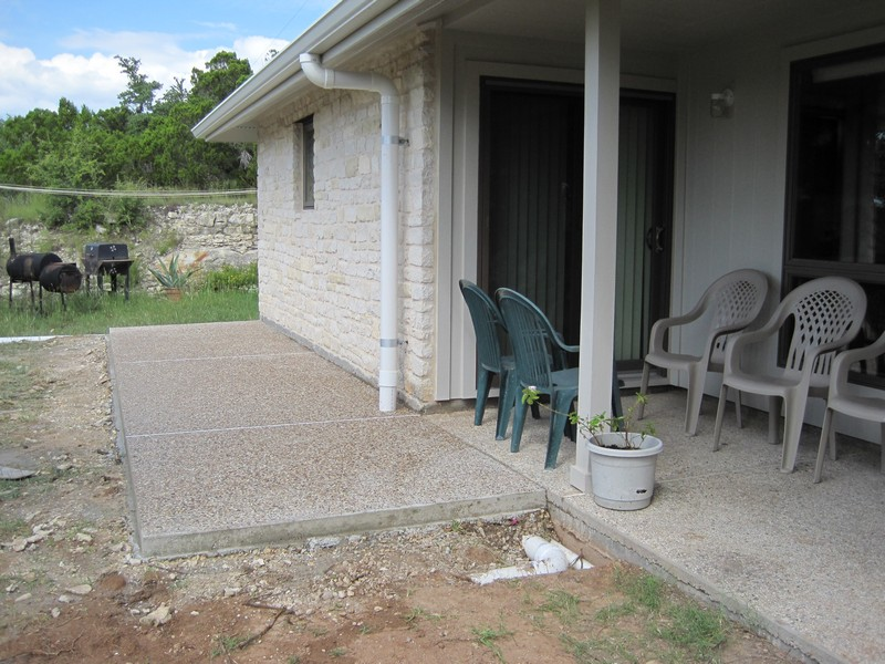 Extension of the Aggragate Patio