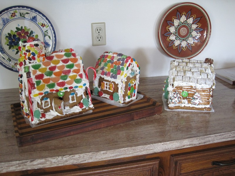 Gingerbread houses 2010