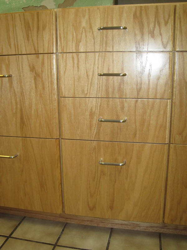 I like how they matched the grain on the drawer fronts.