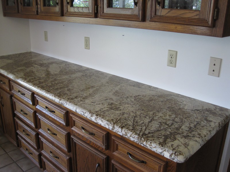 The dining area Granite